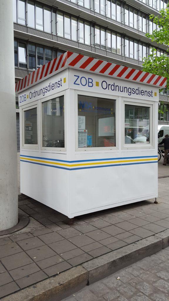 Standort Aufsichtsdienst Zentraler Omnibusbahnhof